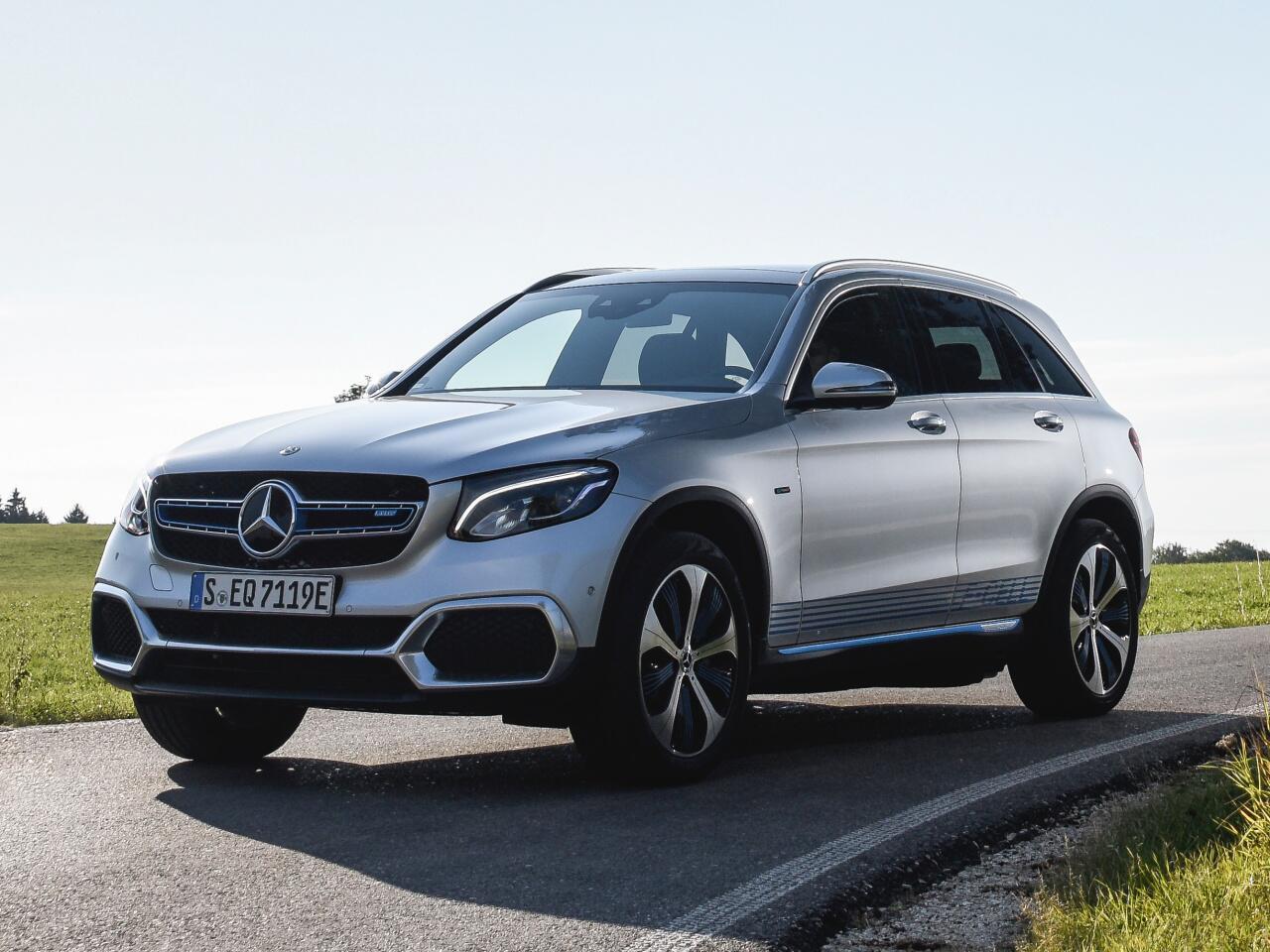 Bild zu Platz 13: Mercedes-Benz GLC / GLK