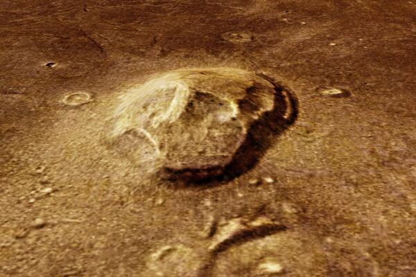 Bild zu Totenschädel auf dem Mars