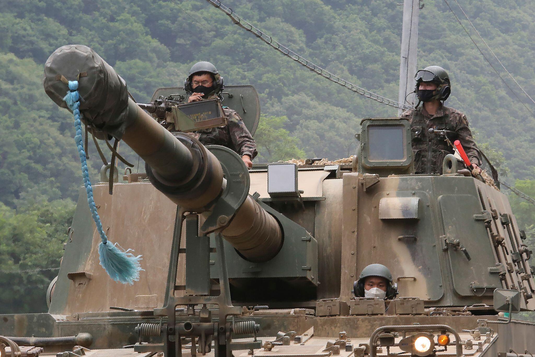 Bild zu Spannungen zwischen Nordkorea und Südkorea