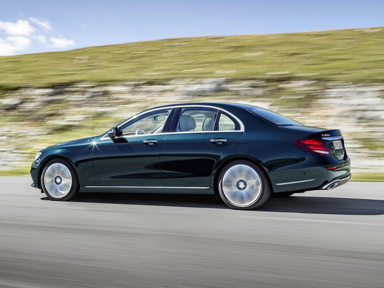 Bild zu Platz 10: Mercedes-Benz E-Klasse
