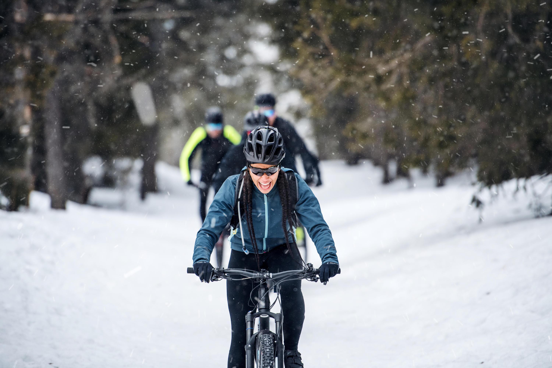 Bild zu Fahrrad, Kälte, Winter, Ausrüstung