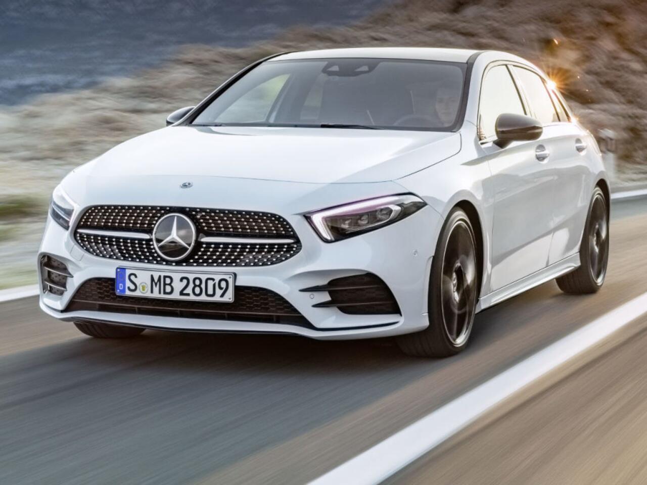 Bild zu Platz 7: Mercedes Benz A-Klasse