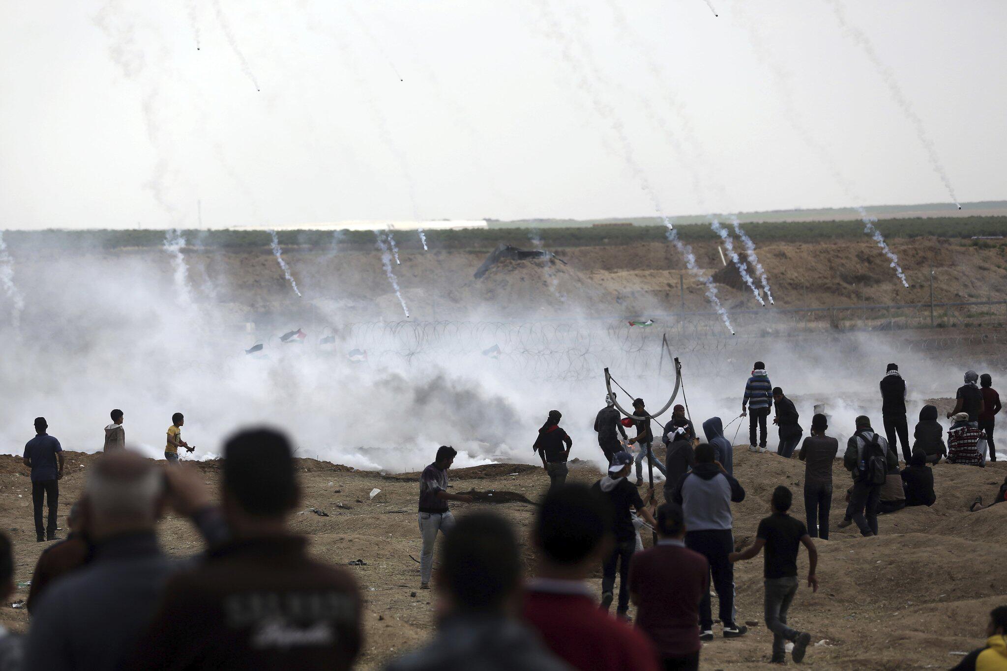 Bild zu Proteste im Gazastreifen, Israel, Palästina
