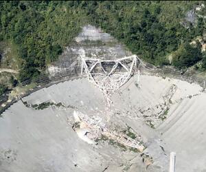 Riesiges Radioteleskop in Puerto Rico kollabiert