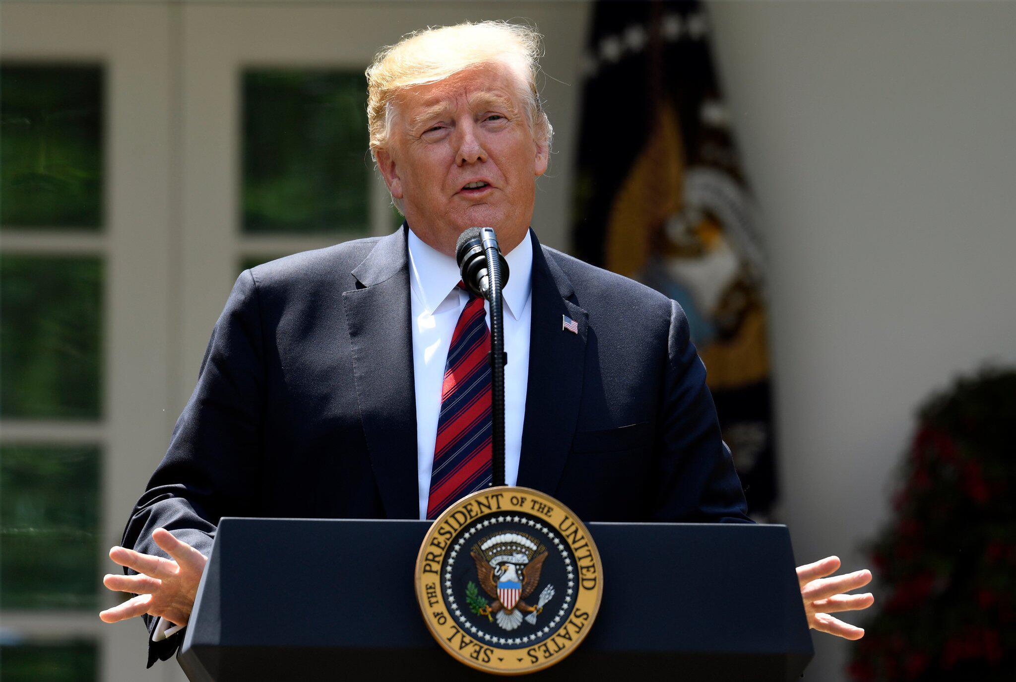 Bild zu US-Präsident Trump ermuntert zu «No Deal»-Brexit