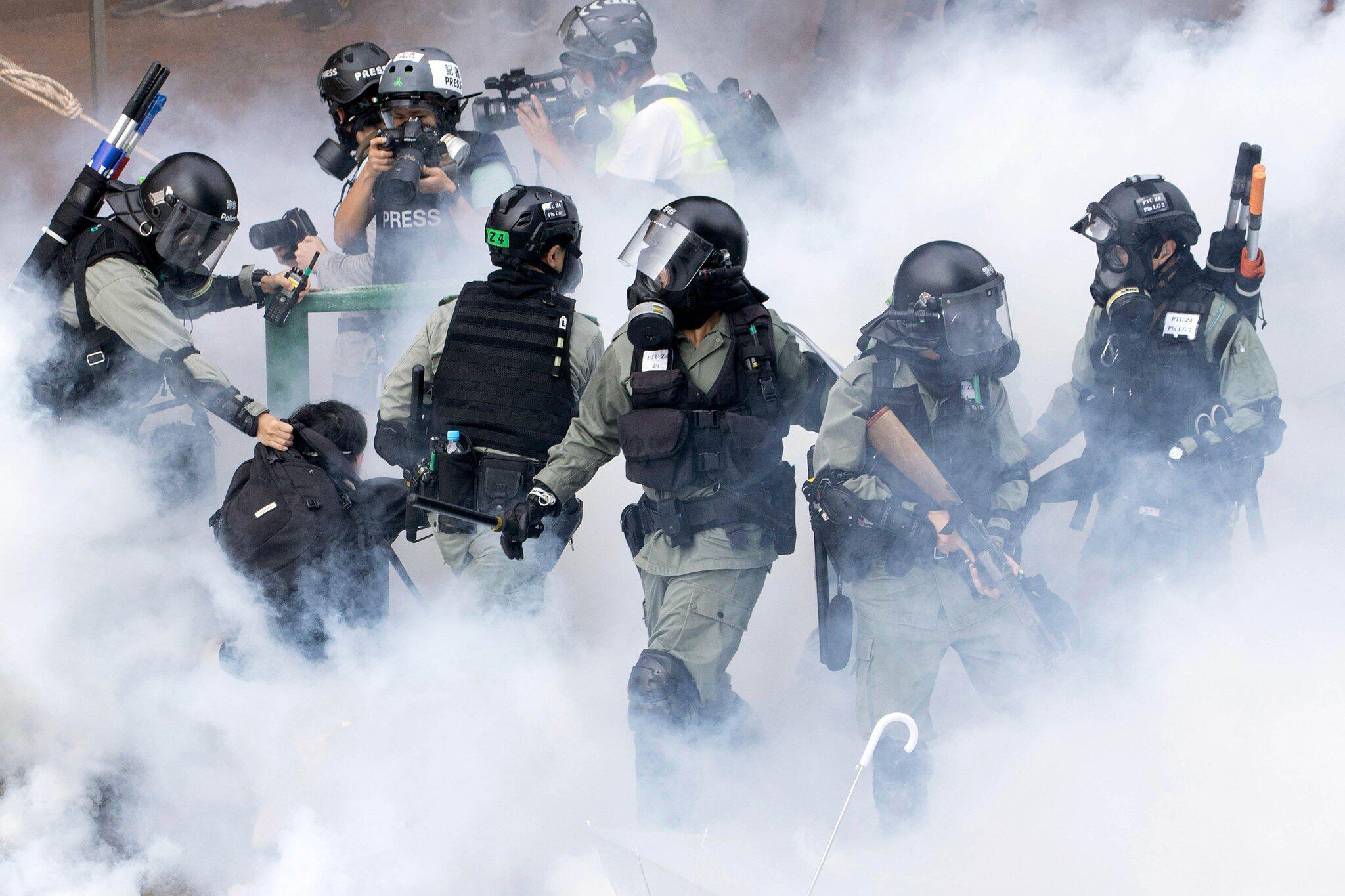 Bild zu Protest in Hongkong