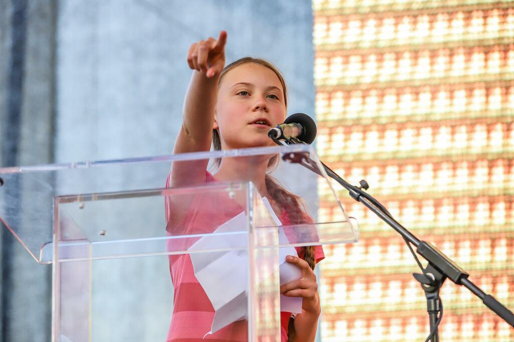 Klimastreik, Fridays for Future, Greta Thunberg, Kundgebung, New York