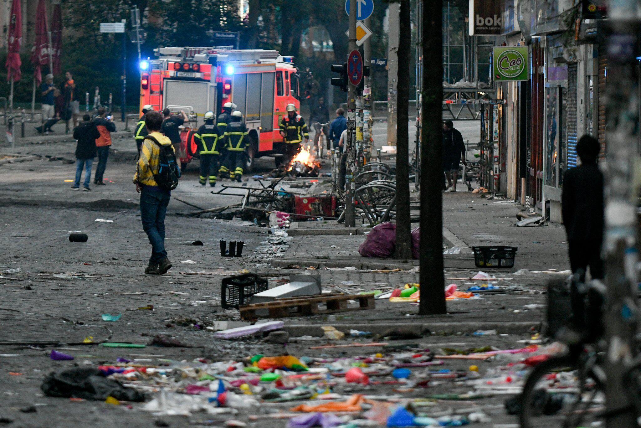 Bild zu Proteste gegen G20-Gipfel