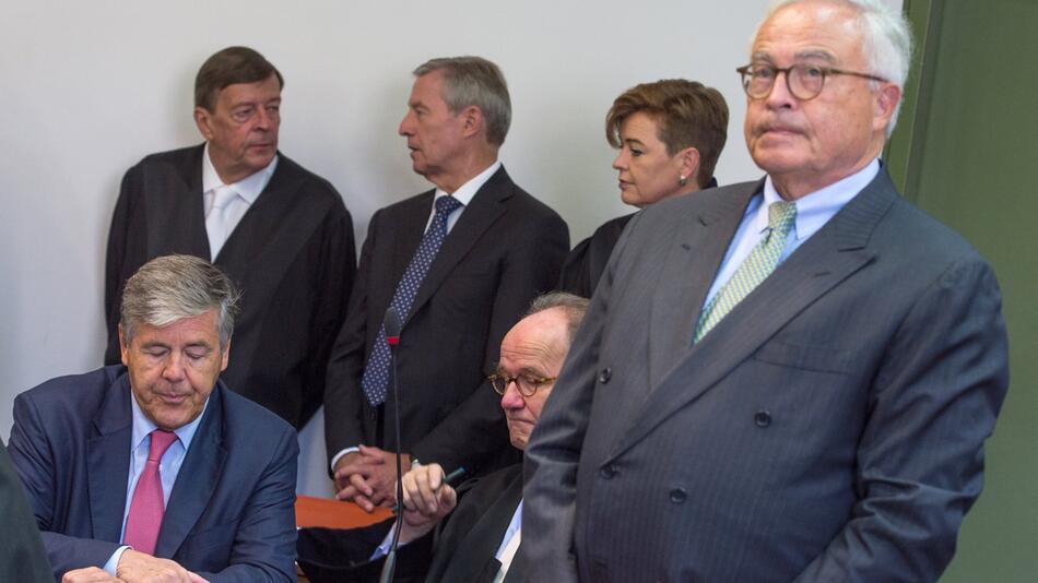 BGH verkündet Urteil zu Freisprüchen für Ex-Deutsche-Bank-Chefs