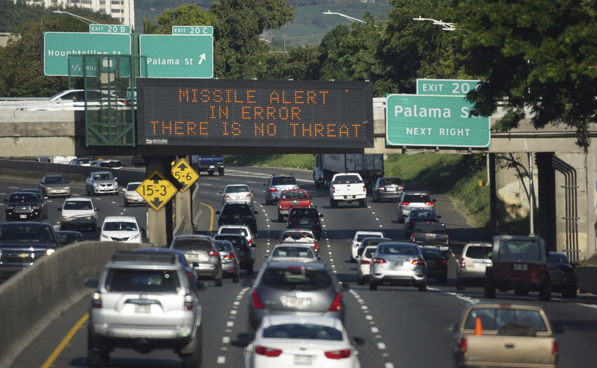 Bild zu Falscher Raketenalarm in Hawaii