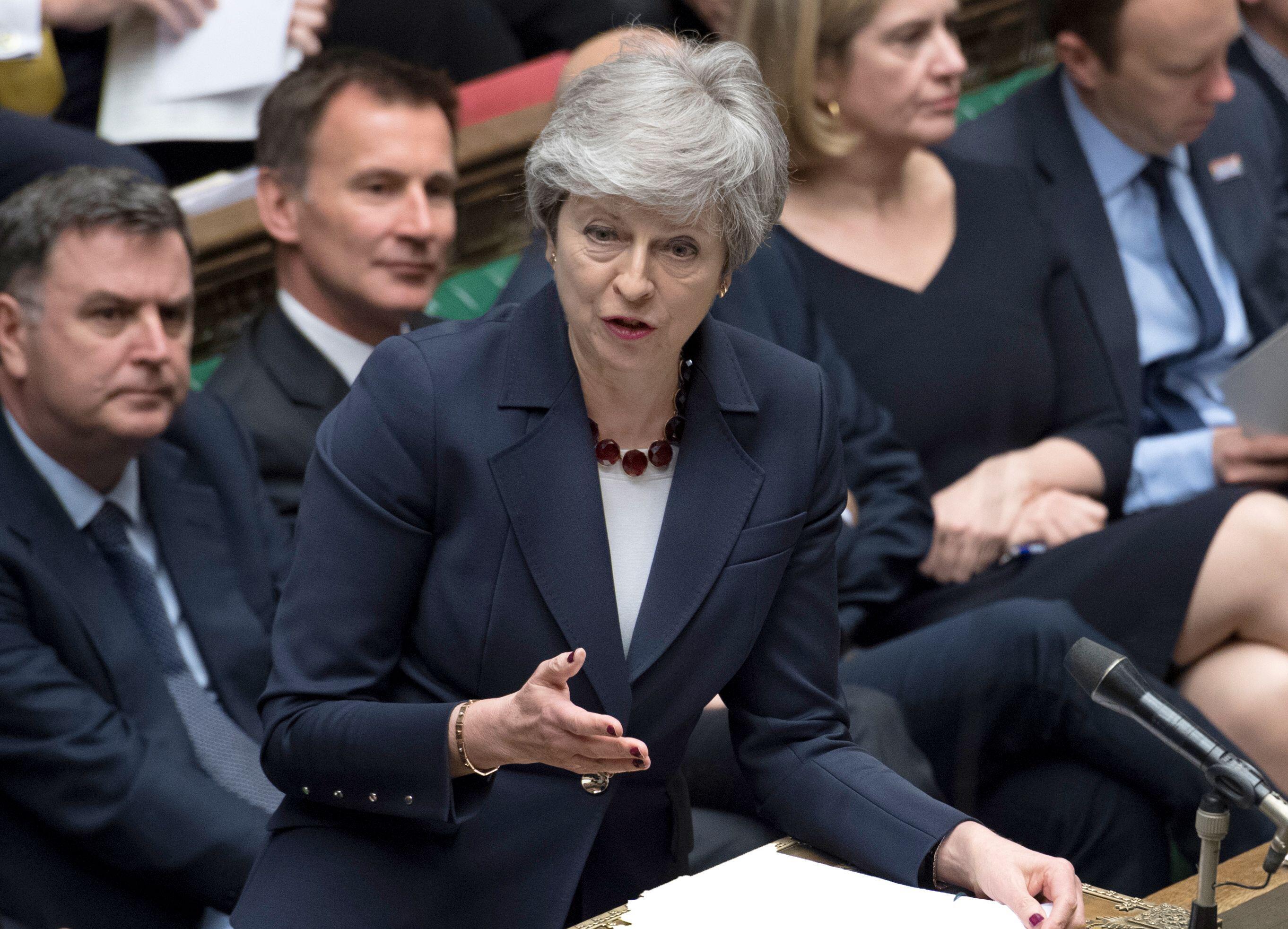 Bild zu Theresa May, Unterhaus