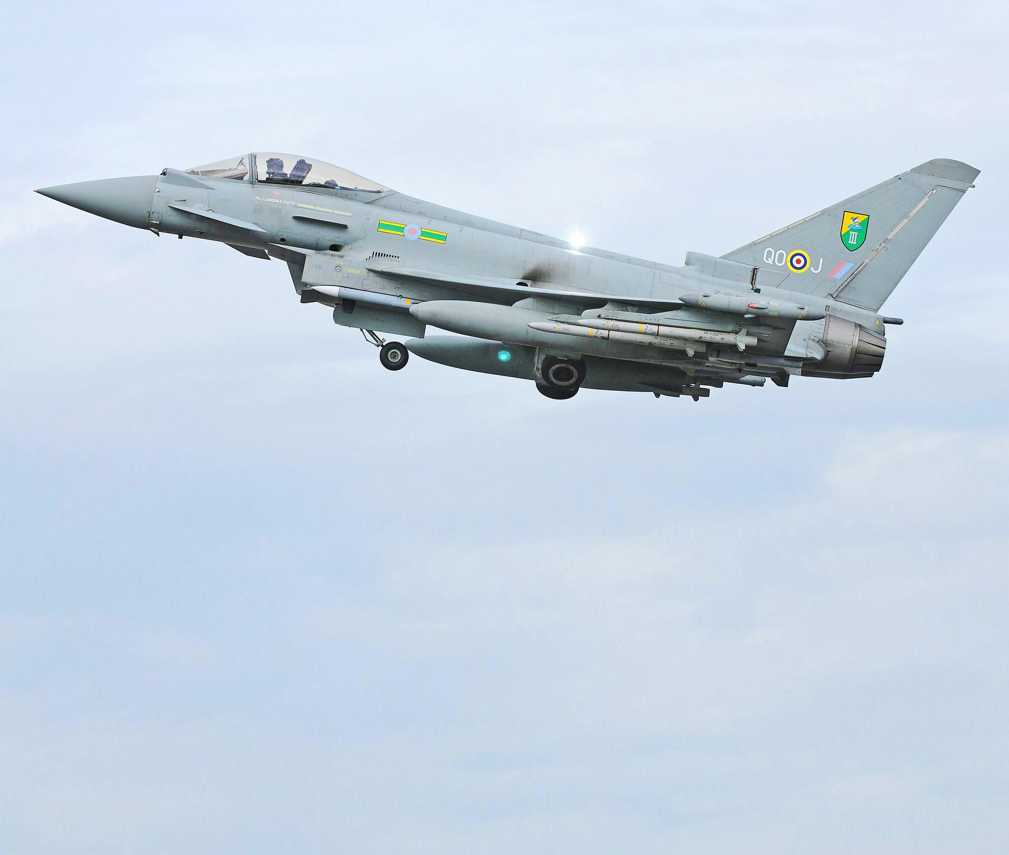 Bild zu Eurofighter Typhoon