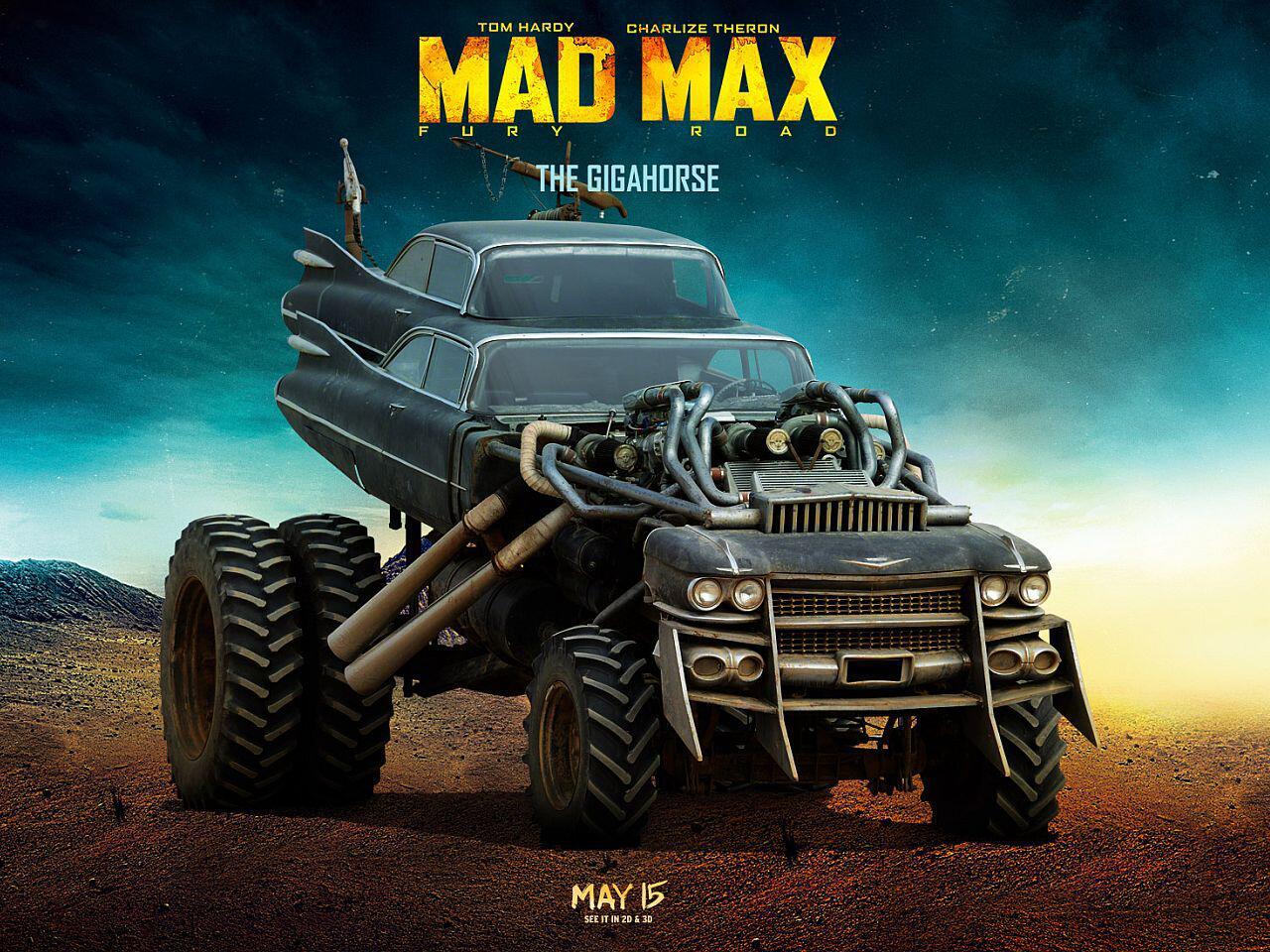 Bild zu Mad Max: Fury Road - Das sind die abgefahrensten Karren aus dem Blockbuster