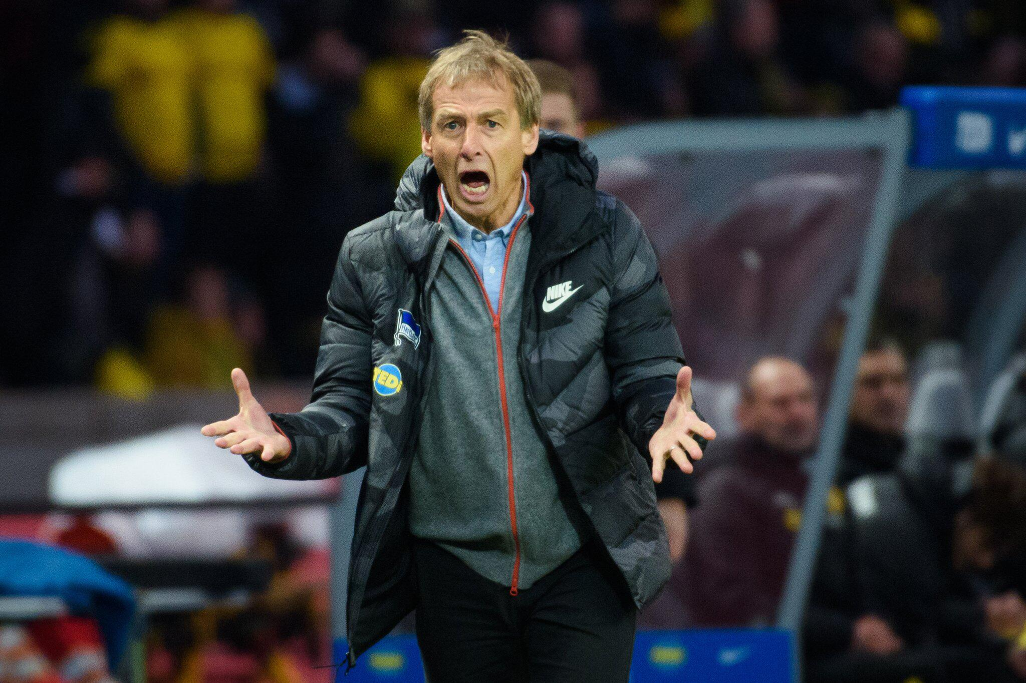 Bild zu Hertha BSC - Borussia Dortmund, Bundesliga, Jürgen Klinsmann
