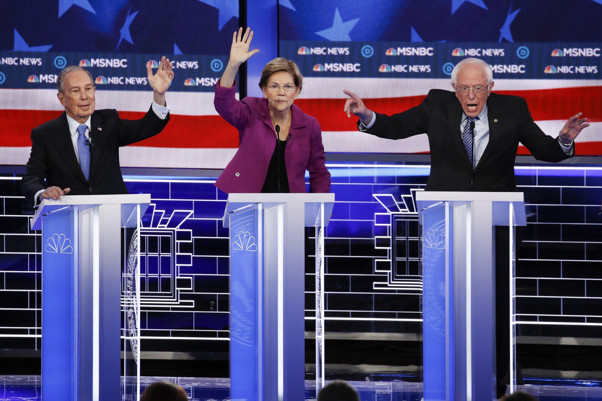 Bild zu Wahlkampf in den USA - TV Debatte