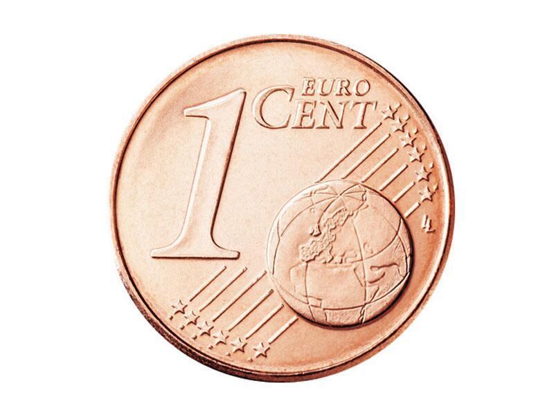 Bild zu Die Vorderseite der 1-Cent-Münze