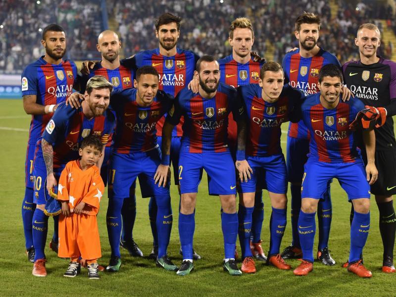 Bild zu FC Barcelona mit Ehrengast