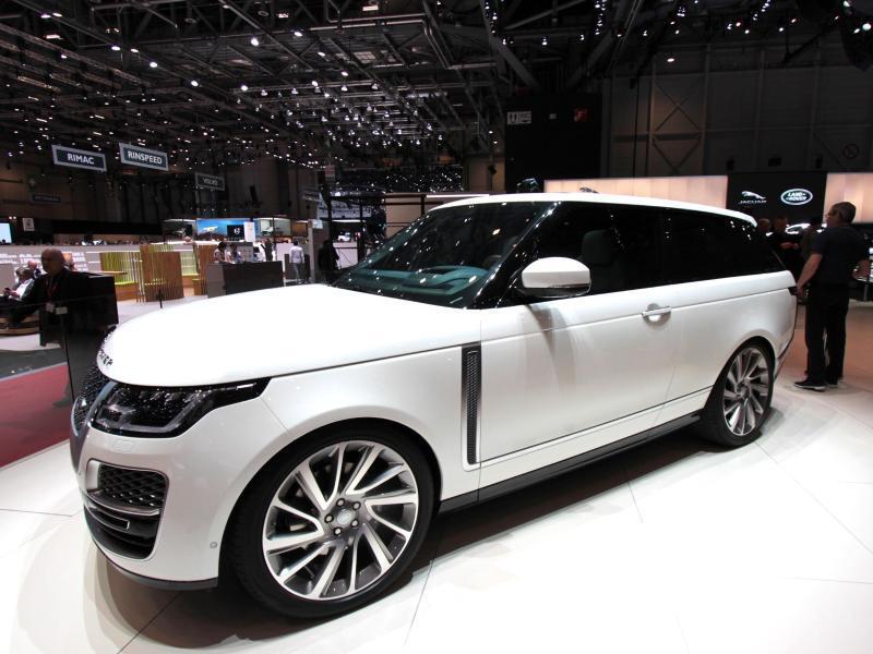 Bild zu Range Rover SV Coupé