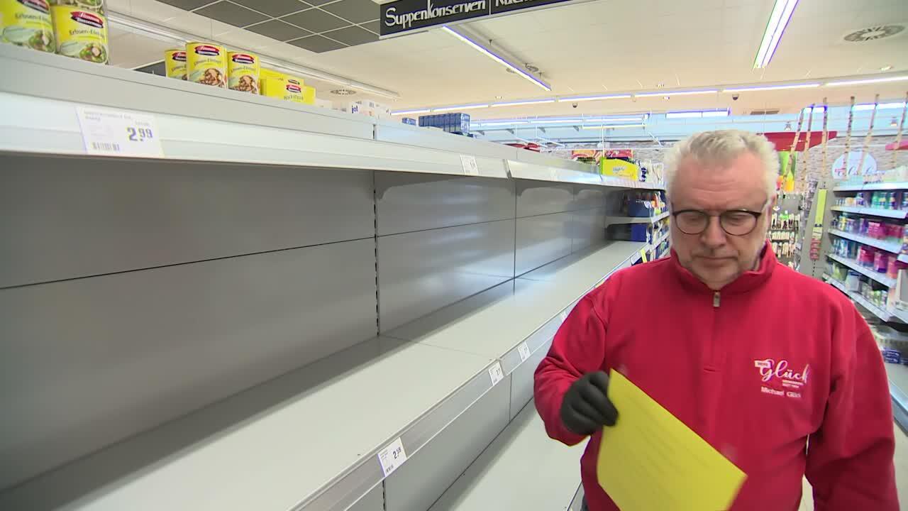 Bild zu Michael Glück, Rewe, Rengsdorf, Supermarkt, Rheinland-Pfalz, Toilettenpapier, Aufpreis, Spende