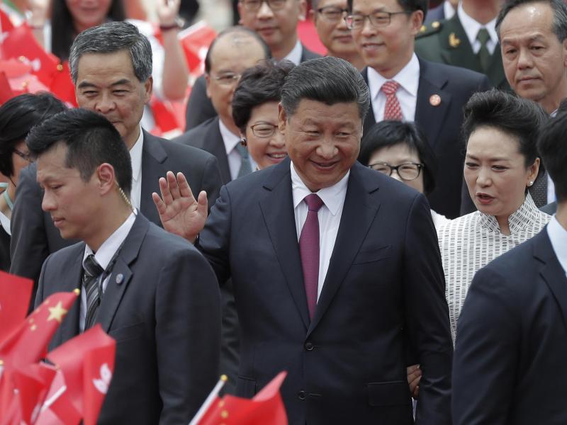 Bild zu Xi Jinping in Hongkong