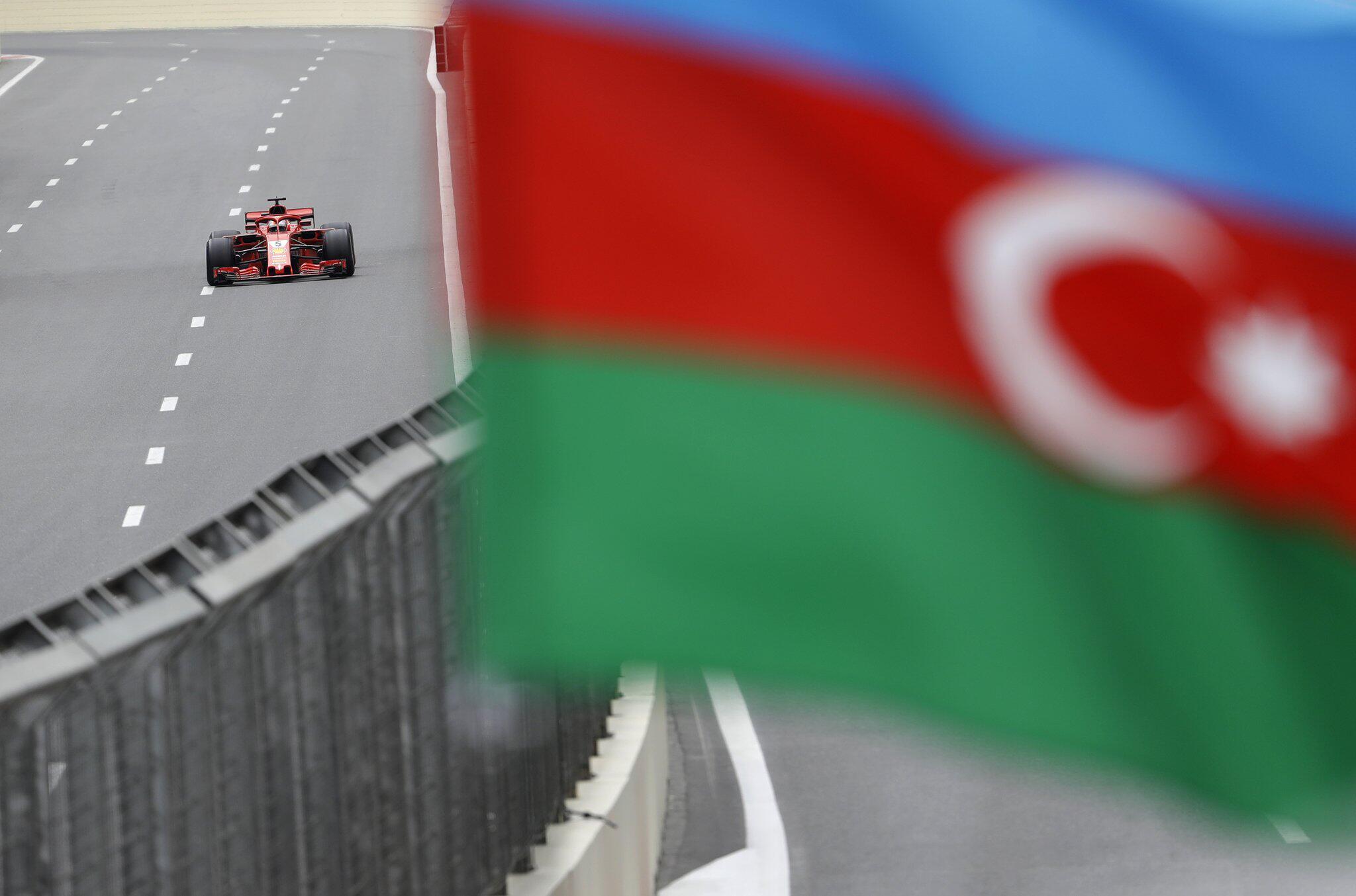 Bild zu Formel 1 - Grand Prix von Aserbaidschan - Training