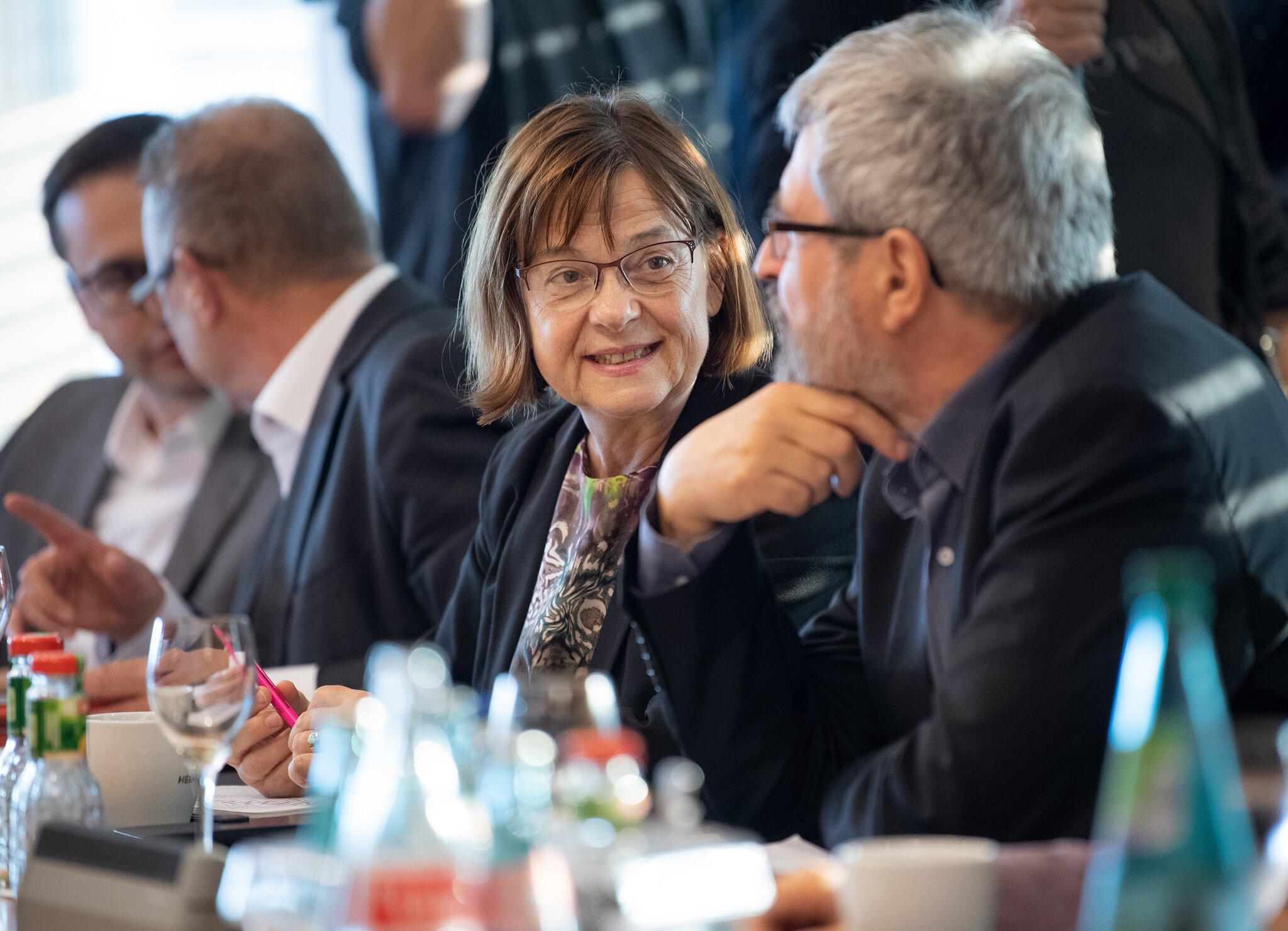 Bild zu Koalitionsverhandlungen in Brandenburg
