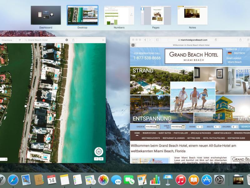 Bild zu Mac OS X «El Capitan»
