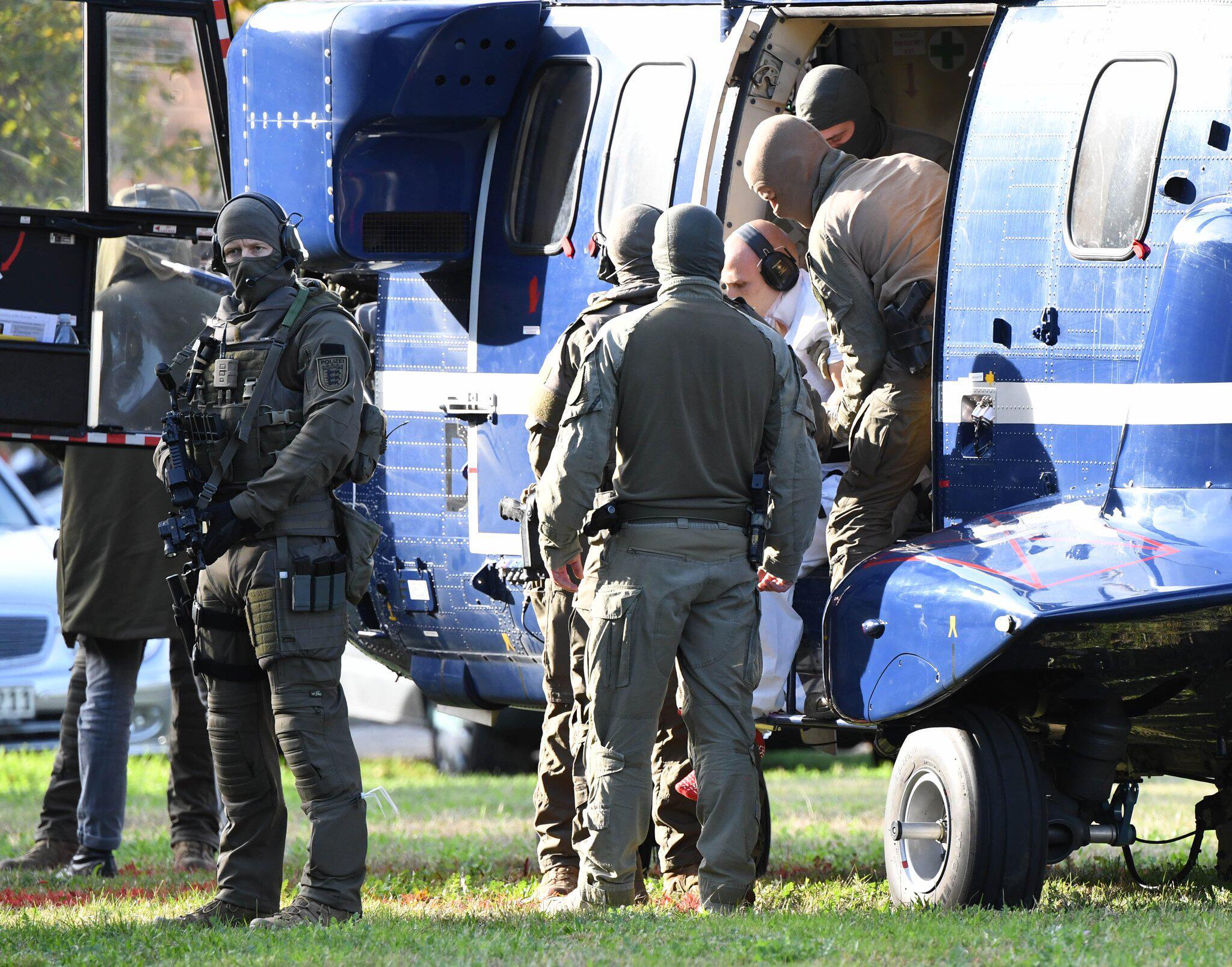 Bild zu Haftprüfungstermin - Tatverdächtiger von Halle