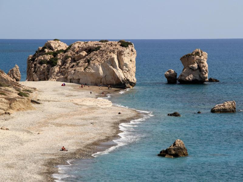Bild zu Aphrodite-Felsen auf Zypern