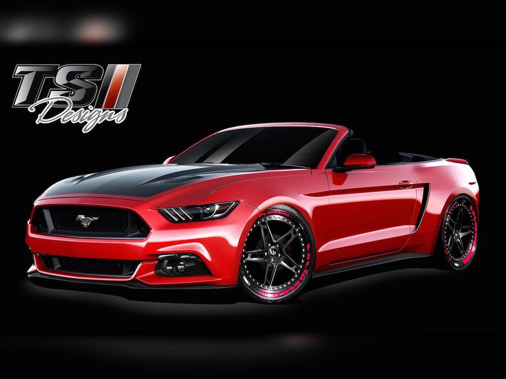 Bild zu Ford Mustang auf der SEMA