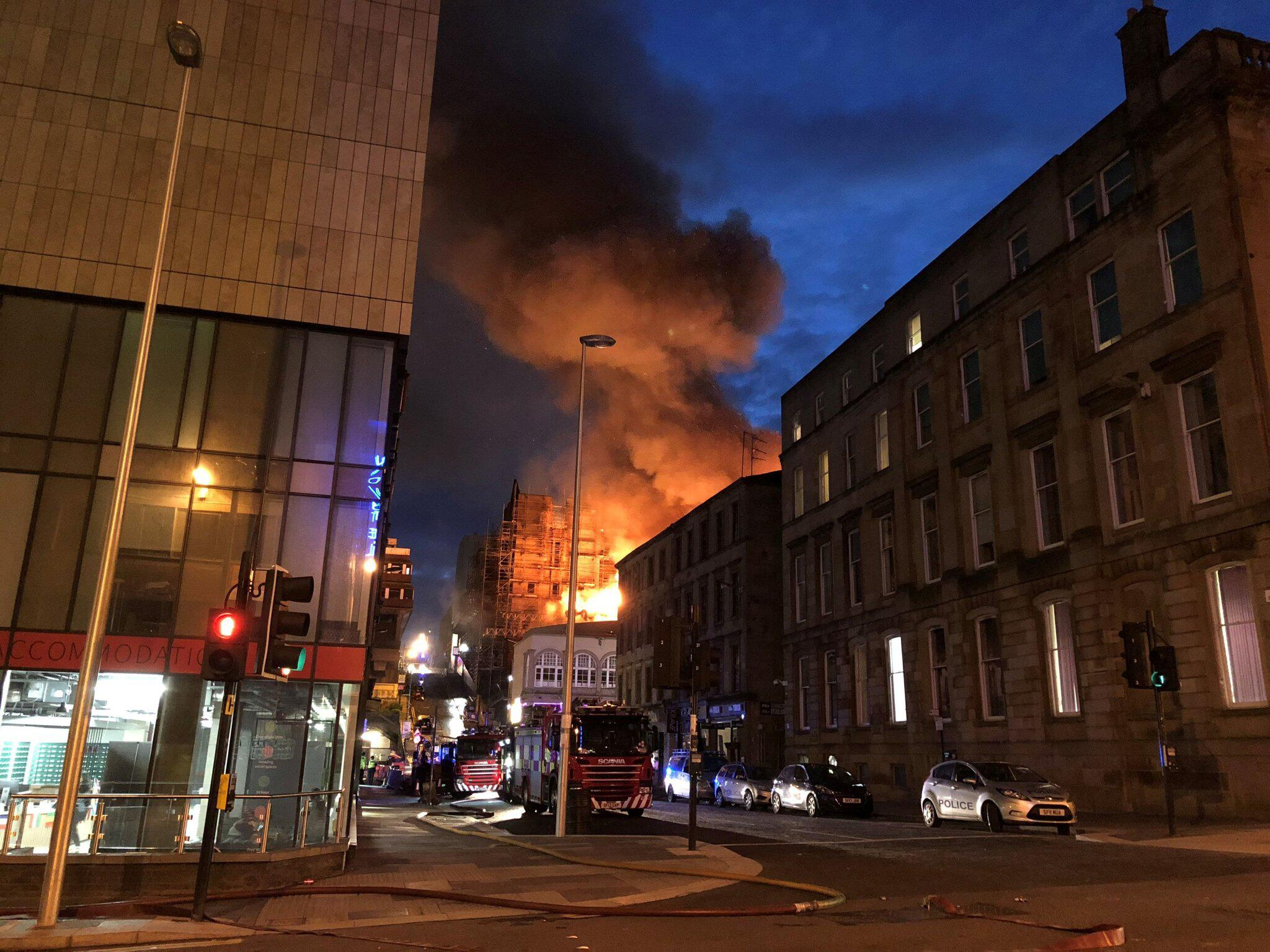 Bild zu Brand in Glasgow School of Art