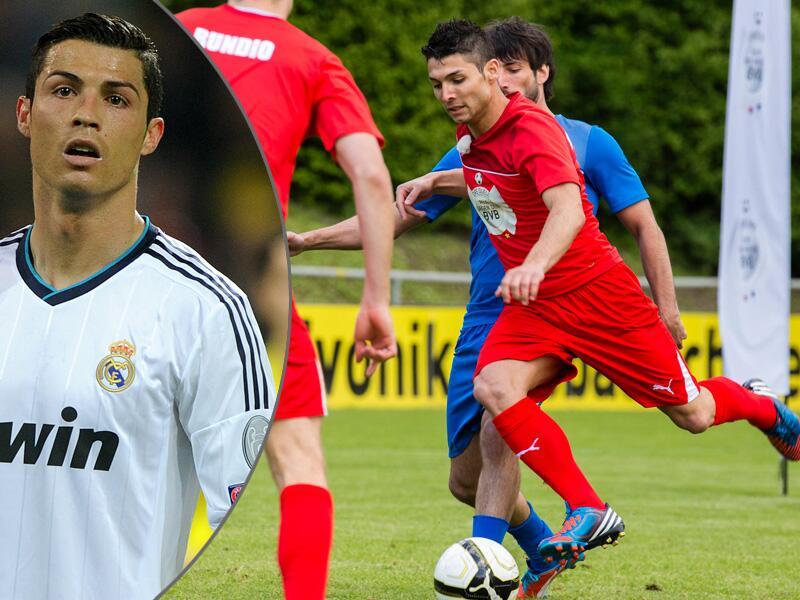 Bild zu Sakis A. Kotsabassidis und Cristiano Ronaldo