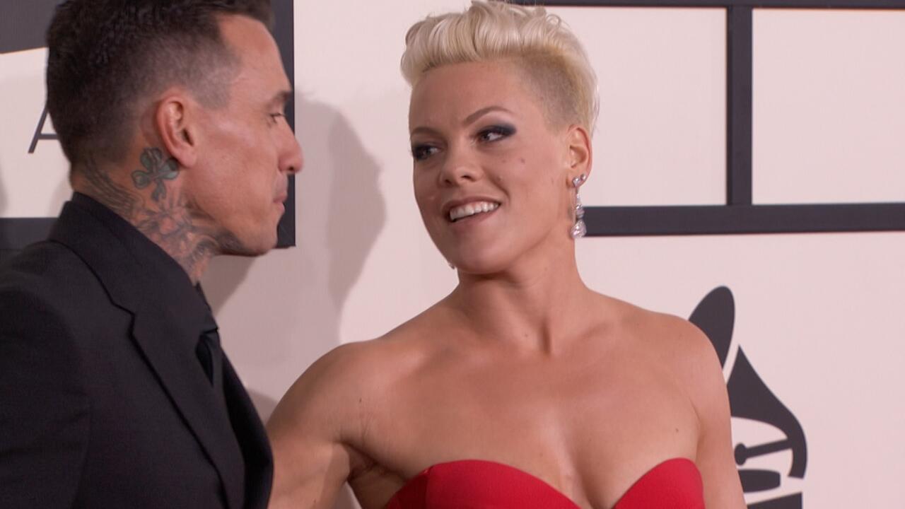 Bild zu Popstar Pink spricht offen über Höhen und Tiefen ihrer Ehe