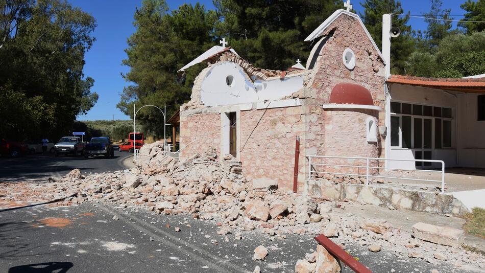 Erdbeben auf Kreta