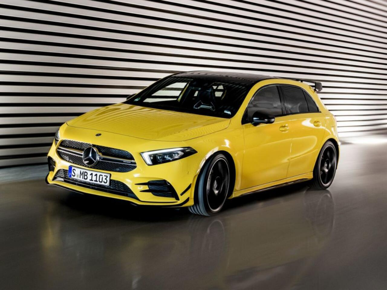 Bild zu Mercedes-AMG A 45