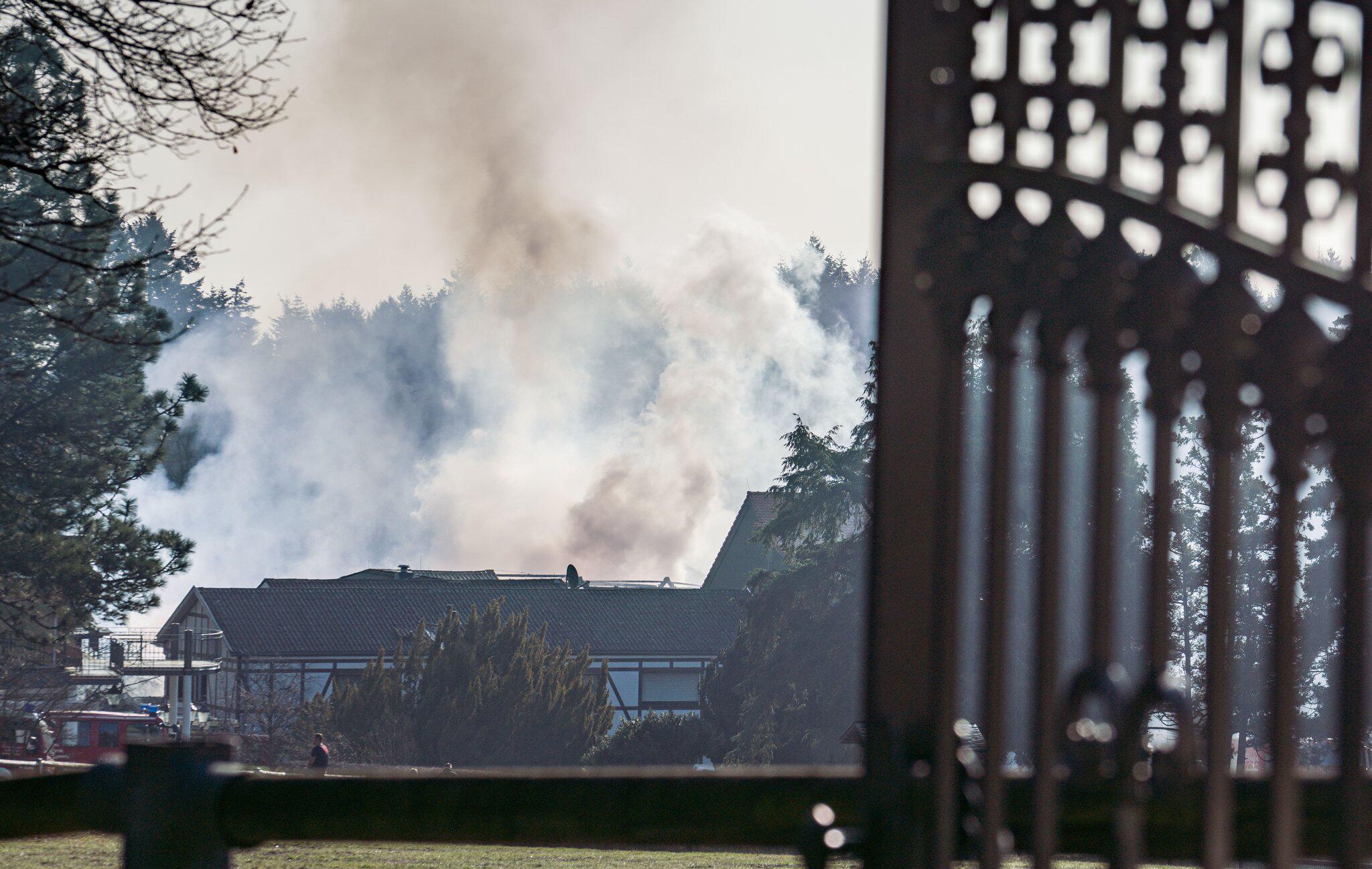 Bild zu Brand in Reitstall in Bad Homburg