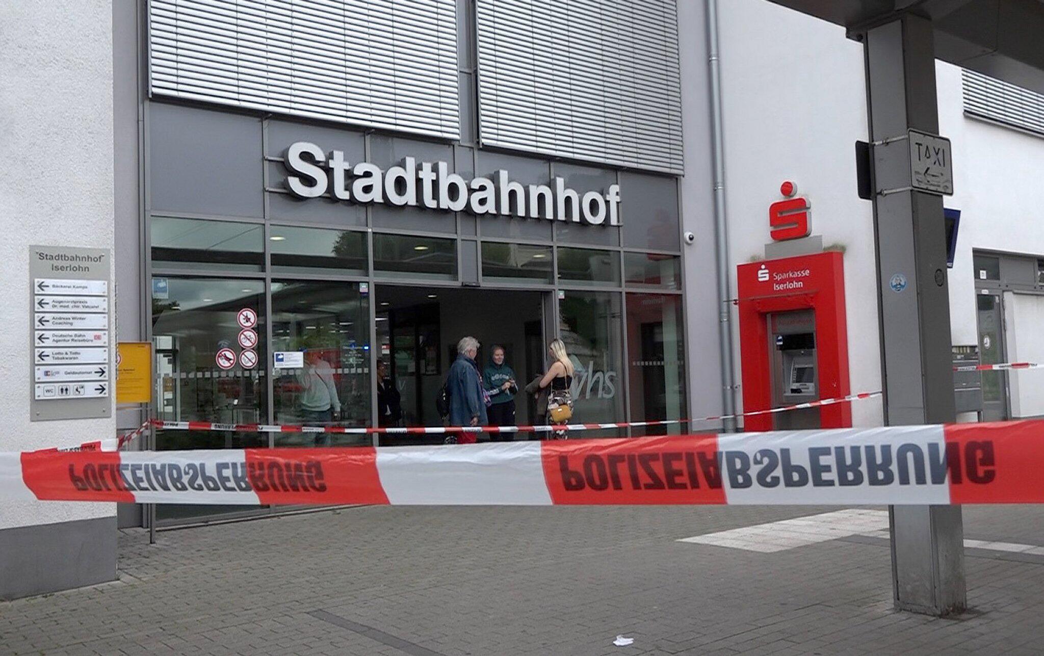 Bild zu Messerangriff am Bahnhof von Iserlohn
