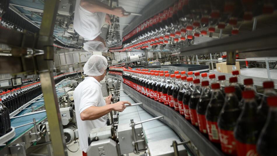 Coca-Cola-Produktion, Warnstreik