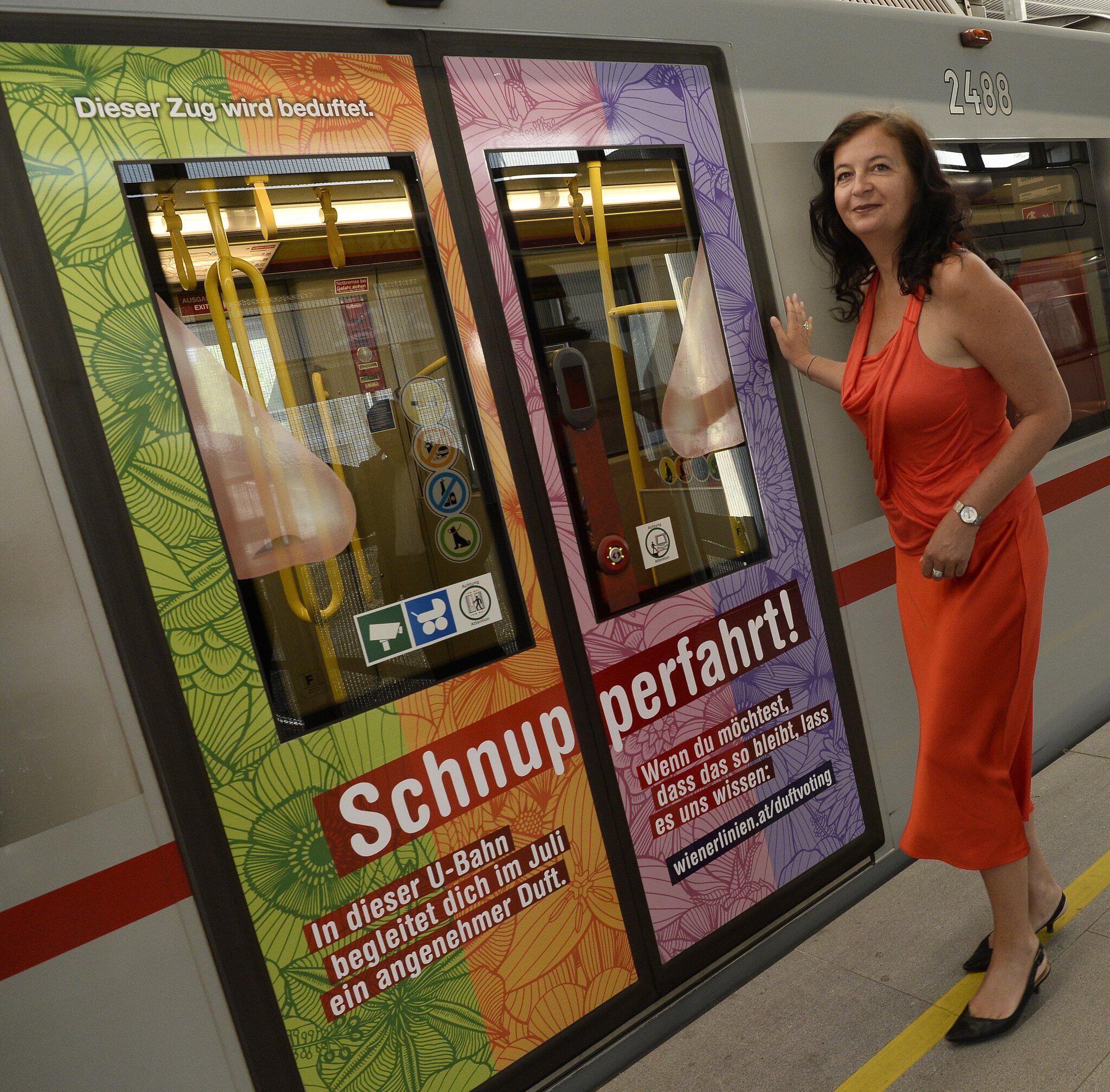 Bild zu U-Bahn mit Dufterlebnis in Wien