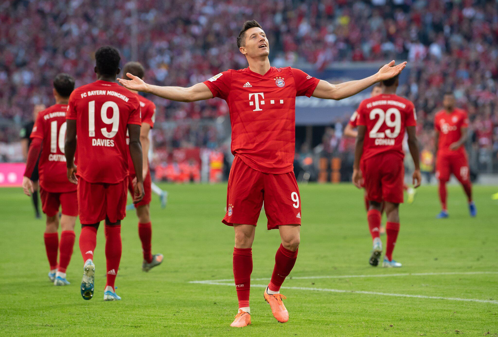 Bild zu FC Bayern München, Union Berlin, Bundesliga, Robert Lewandowski
