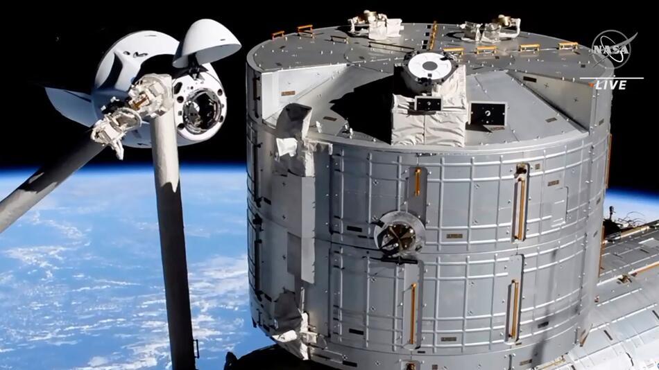 Start der «SpaceX Crew-2»-Mission