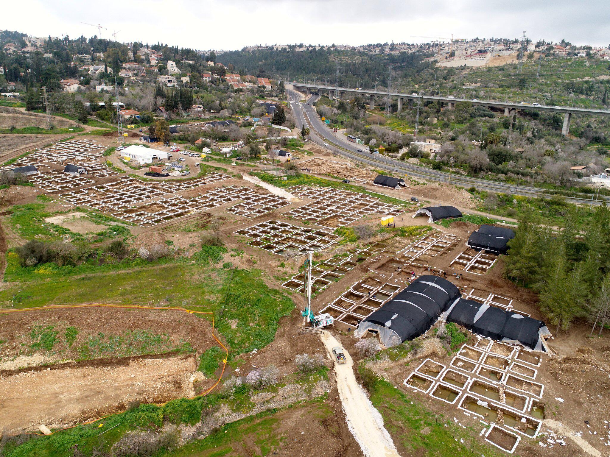 Bild zu Israelische Archäologen entdecken 9000 Jahre alte Siedlung