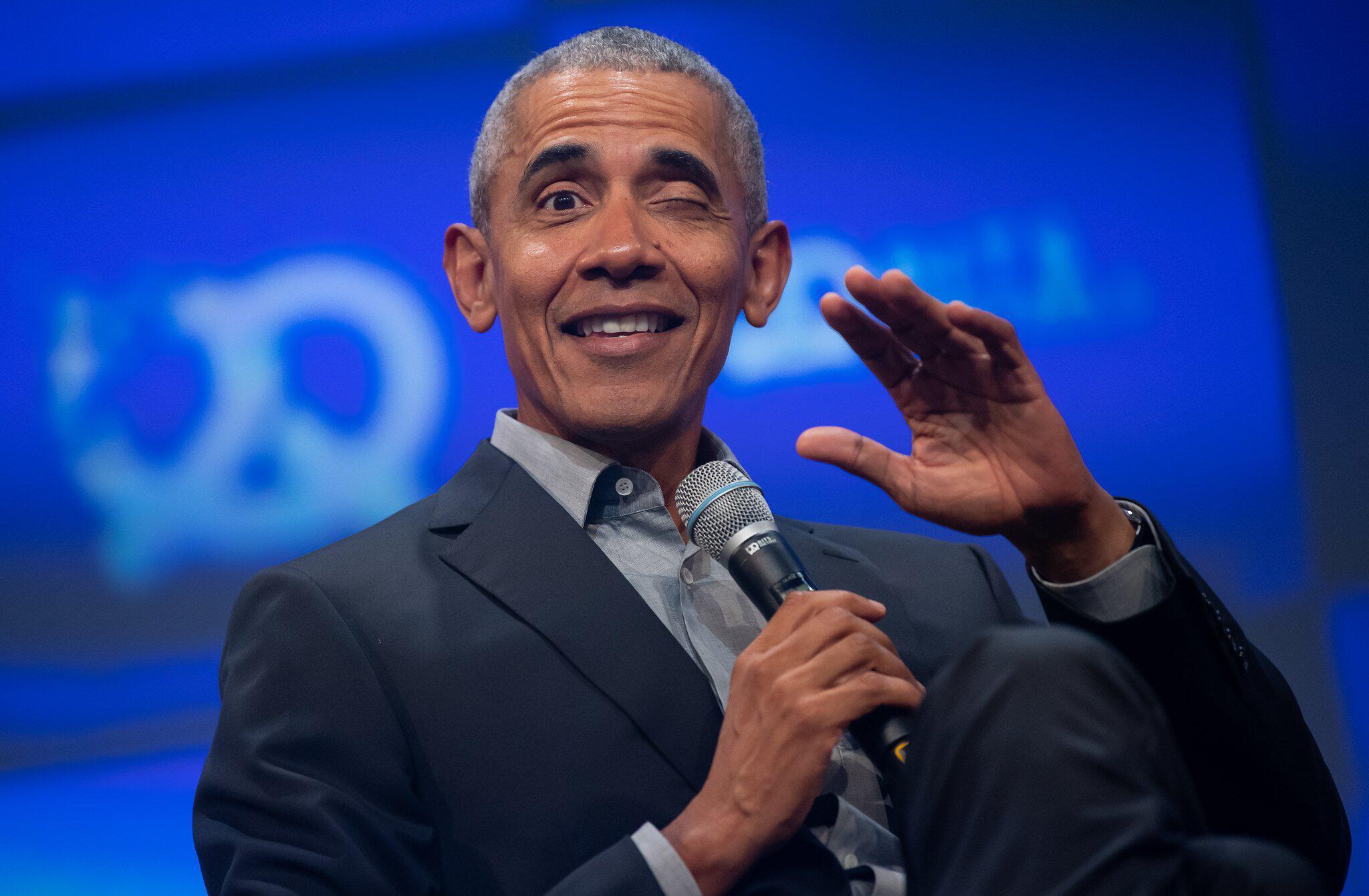 Bild zu Bits & Pretzels - Barack Obama