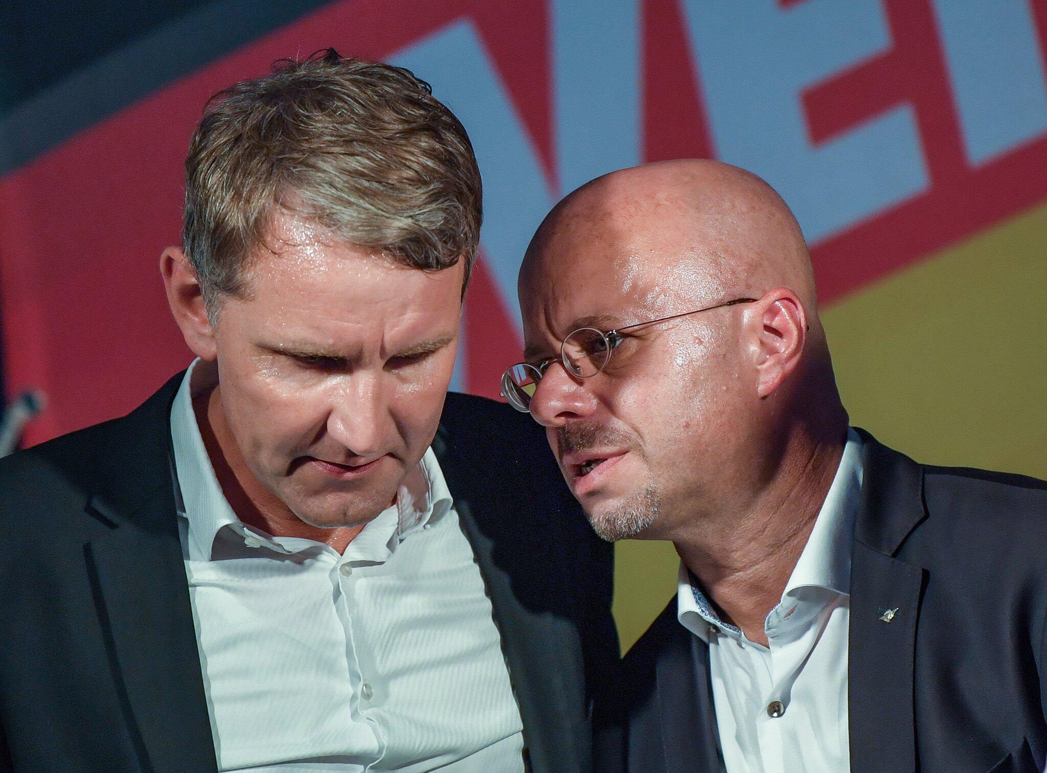 Bild zu Björn Höcke und Andreas Kalbitz