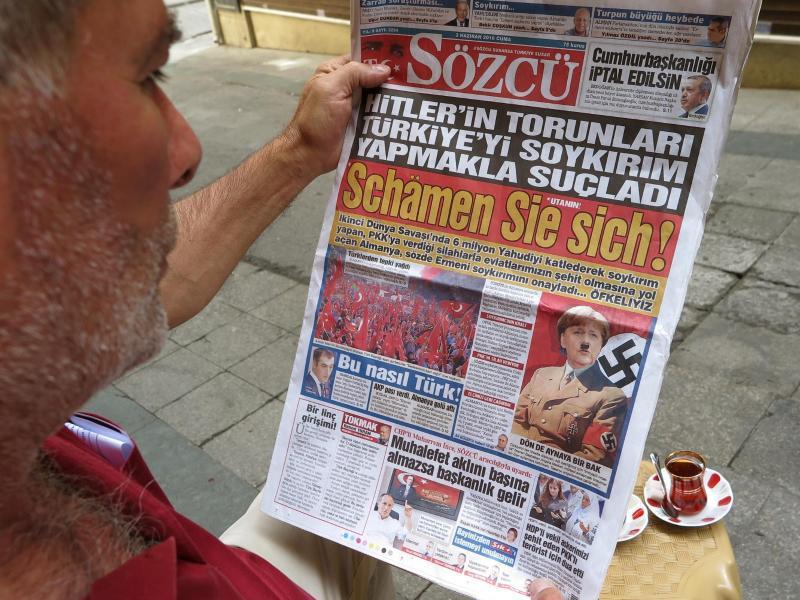 Bild zu Presseecho in der Türkei