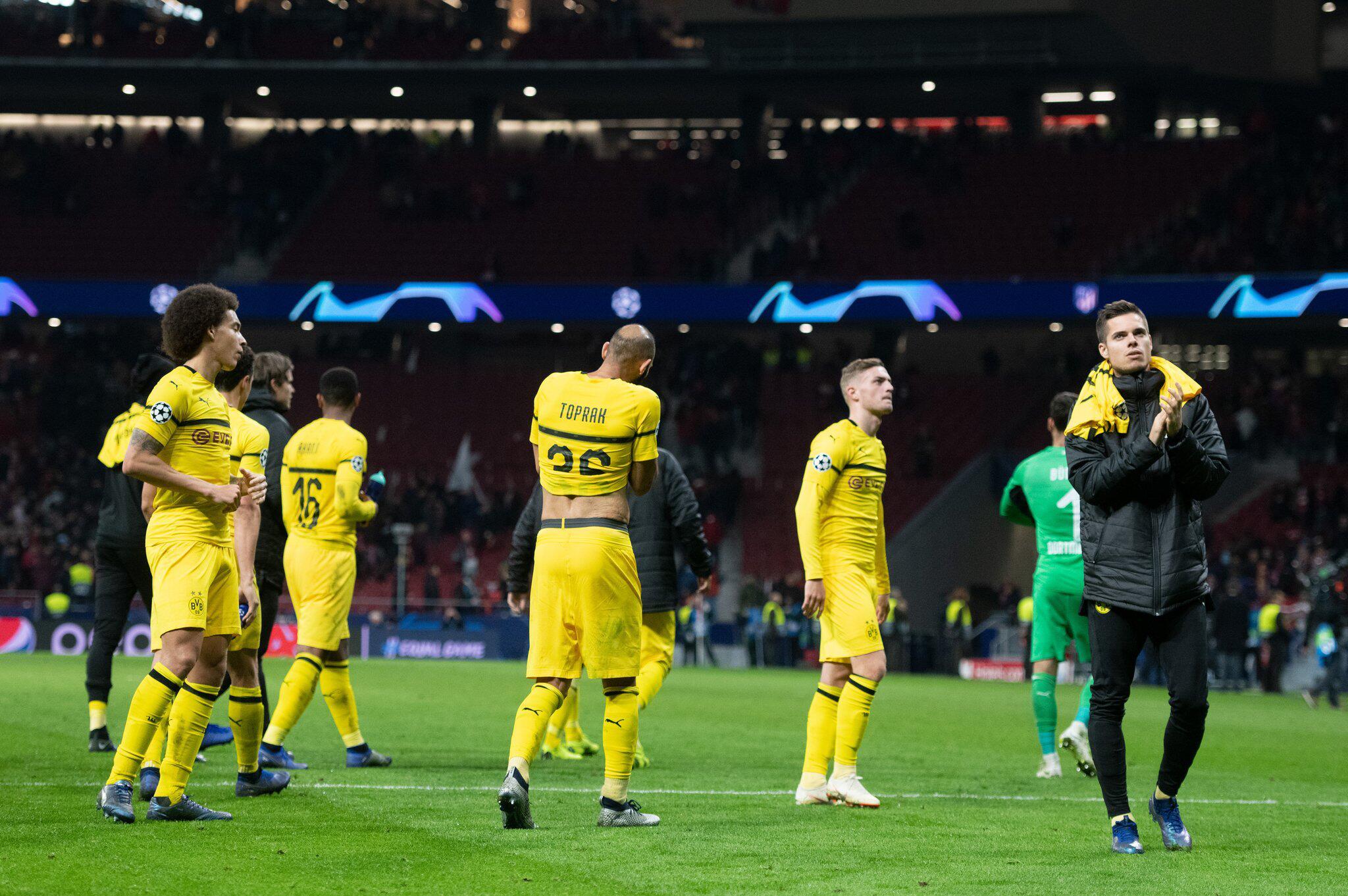 Bild zu Atlético Madrid - Borussia Dortmund