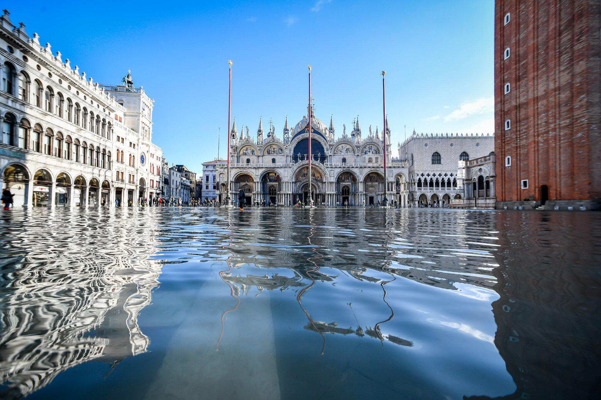 Bild zu Überschwemmungen in Venedig