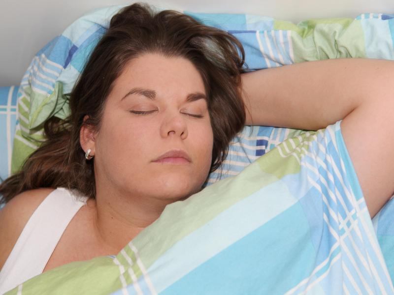 Bild zu Schlafende Frau