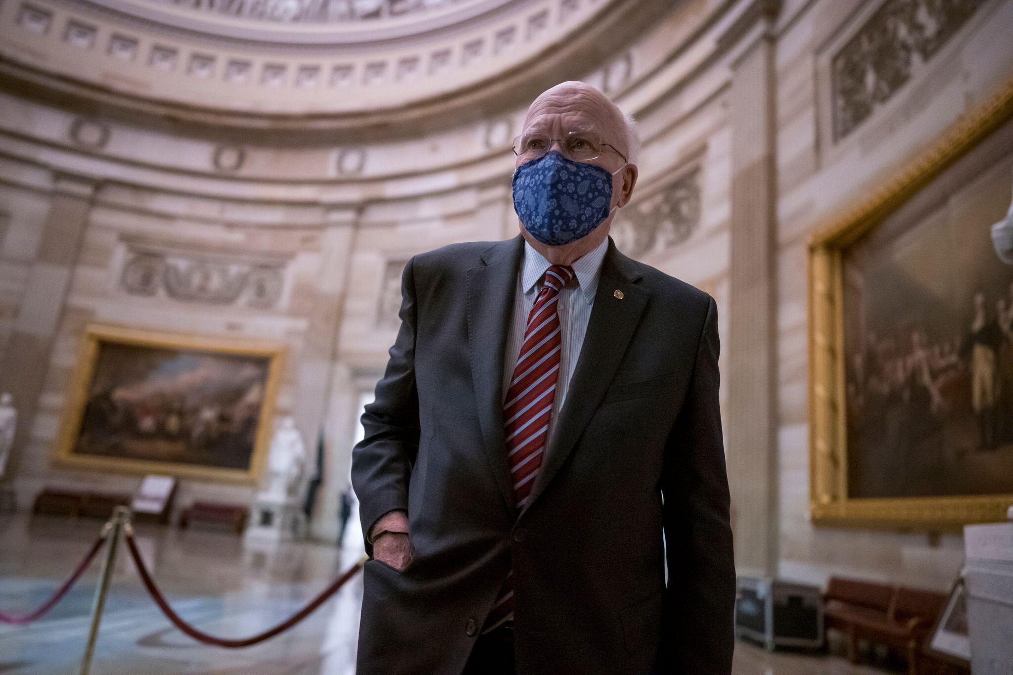 Bild zu Anklage gegen Trump imUS-Senat verlesen