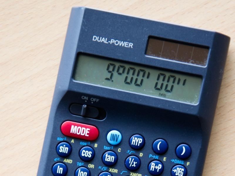 Bild zu Taschenrechner